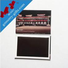 Active demand eco-friendly tinplate fridge magnet sticker