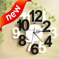 Acrylic Wall Clocks for Gift/ China Plastic Wall Clocks for Home Decor