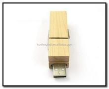 Top level hot sell wooden padlock usb