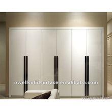 2014 New Design DIY Elegant Bedroom Custom Wooden Cheap Wardrobe Closet