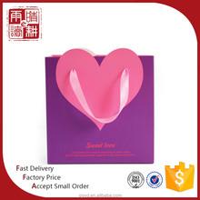 Mnufacturer high quanlity reusable gift paper bag, paper gift bag