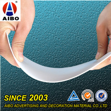 Resistant To Fire Flexible Thin Plastic Pvc Sheet