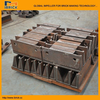 Clay brick tunnel kiln cart wheel assembly