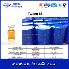 Factory supplier-Recive small order Cosmetic Grade Tween 85 For free sample