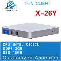 all in one computer linux mini pc desktop pc X-26Y C1037U 2G RAM 16G SSD With Graphics Card Wholesale