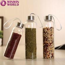 Personalizado de encargo de lujo decoración de botellas de vidrio