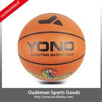2015 YONO Cheap price size 7 wholesale training PVC basketball