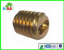 TS 16949 passed brass worm gears, OEM brass worm gear