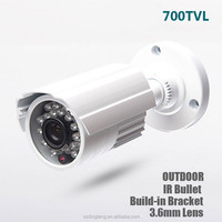 700tvl Infrared Outdoor Security Bullet IR-Cut nightvision waterproof cctv camera supplier in the philippines