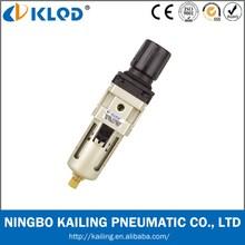 KLQD brand auto drain type air filter regulator combination AW3000-02D