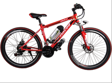 Full suspension electric mountain bike electric racing bike 48V 500W SM-1163