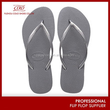Latest design 100 rubber solid color flip-flops