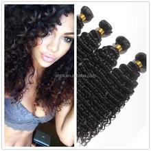 Factory Wholesale 50g-100g/pc 100% natural brazilian deep wave human hair For Black Women No Shedding No Tangle Human Ha