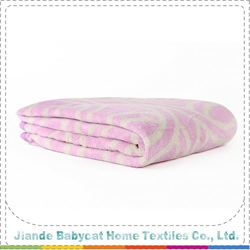 Most popular OEM quality children coral fleece blanket China sale