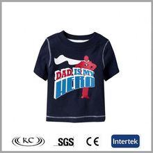 high quality hotsale 100 cotton black girls fashion tshirts
