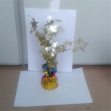 Fashion wholesale plastic tree for party decoration