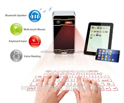 New Product Arriva!! F1 laser projection mini wireless keyboard and mouse for ipad for mobile phone