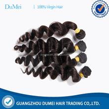 Dumei bela solto feixes de cabelo onda camadas duplas natural #1 & # 1b cor longo cabelo comprimentos