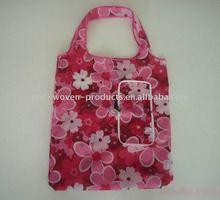 Guangzhou polyester foldable shopping bag