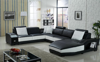 Classical furniture modern sofa set cheap L shape sofa sectional sofa
