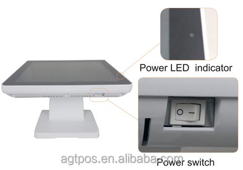 Новое поступление Туры плоские IP65 AGT-960EZ системы пос Безвентиляторный алюминиевого сплава 15 дюймов сенсорный pos-терминал от производителя с хорошим