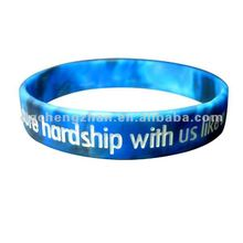 Most popular gospel silicone bracelet for christmas gifts in 2012