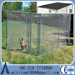 steel kennel large dog cages for sale/ dog kennel cage stainless steel