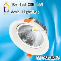 Warm/Cool whte 3.5 inch cob 10 watt led spot down light price 20pcs/lot