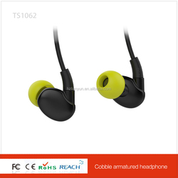 Hot Selling factory manufacture handsfree earbud colorful in ear headphone with fashionable design