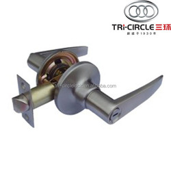 High Quality Tubular leverset door lock TC808BK-SN
