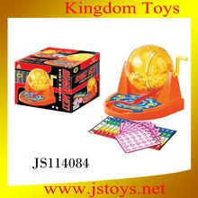 Bingo electrónico de la máquina de bolas de bingo& papas fritas