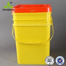 Praça food grade balde plástico balde de 20 litros 20 litros de plástico bateria