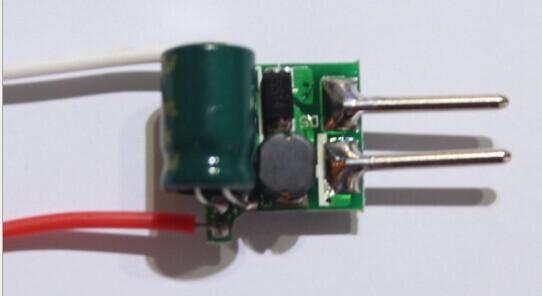 схема, MR16 3*2 Вт DC