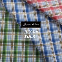 100% Cotton Spring/Summer Shirting & Dress Fabric, Cotton Dobby Check/Plaid Fabric