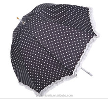 sun umbrella rain umbrella black dot