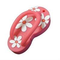 colorful slipper usb flash drives, lovely shape pvc pen drives, dog bone rubber usb