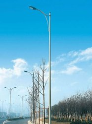 Customized Single Arm Street Lighting Steel Poles/Posts/Columns