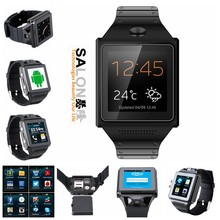 OEM MTK6572 Dual Core GPS BT4.0 WiFi 5MP Camera Android Watch Mobile Phone