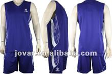 3D rubber logo printing 100% Jacquard polyester Basketball Uniform