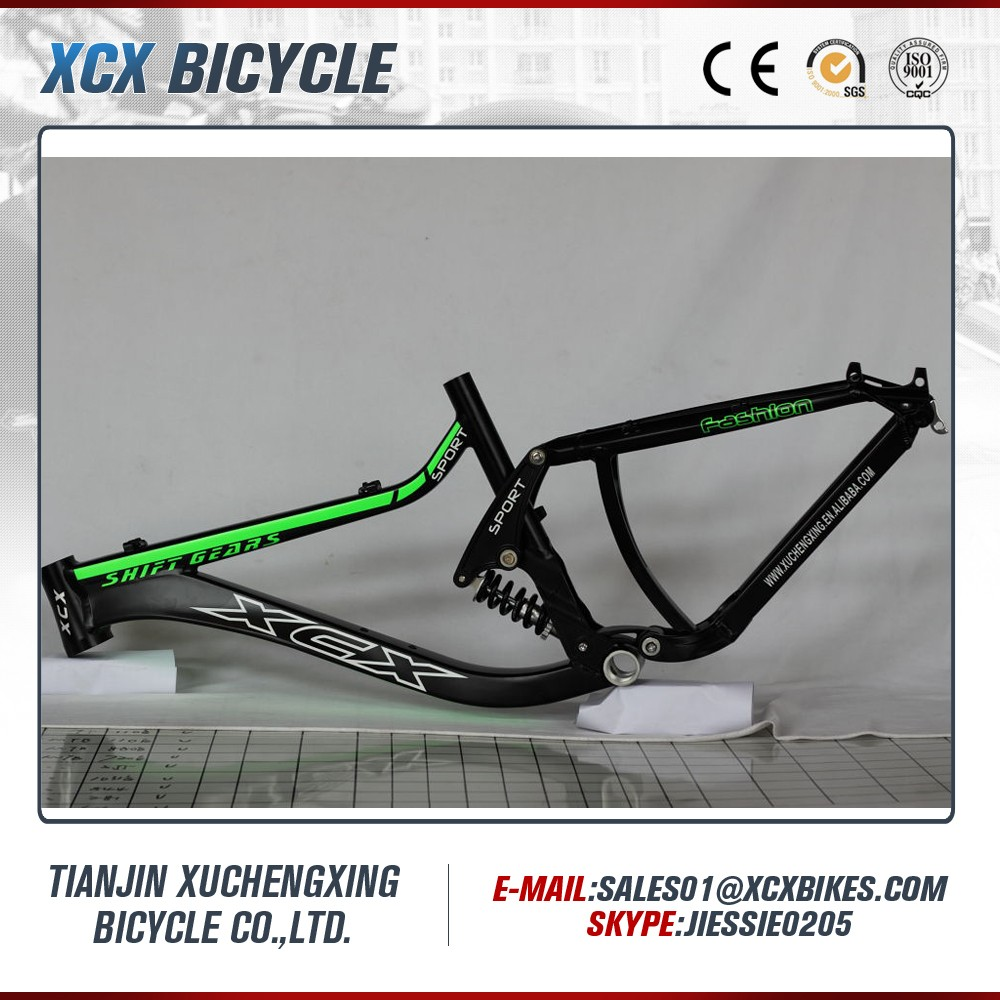 Aluminum Frame High Quality Full Suspension Mountain Bike Frame For ...
