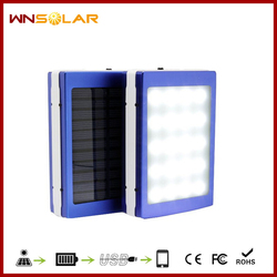 Free shipping!!! solar power bank solar mobile phone charger solar sun charger for mobile