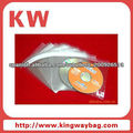 opp plastic bag with self adhesive tape