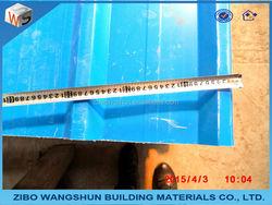 Coated corrugated steel sheet PPGI roof tile