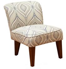 Alannah Printed Fabric Accent Slipper Chair
