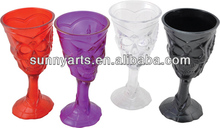 Plastic Halloween skull goblet halloween cup