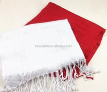 cheap beautiful 100%viscose solid color shawls