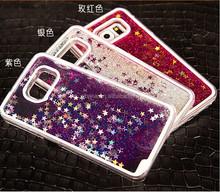 bling 3D glitter liquid cell phone case for samsung galaxy s6 ,for samsung galaxy s 6 case