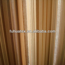 twill 100% polyester blackout fabric for curtains and home textile