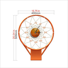 New Luxury DIY 3D Wall Clock Sticke Home Decoration Mirrors Large Art Hours Gifts New DIY Modern Decoration Basketball frame