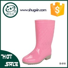 heel wellies galoshes pictures boots for women B-818